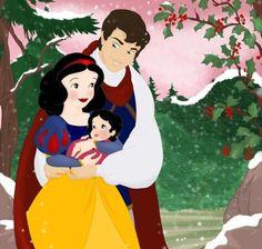 Snow whites future family