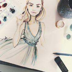 { B/c in my mind, Cinderalla wore Valentino } by Dallas Shaw