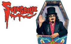 The current Svengoolie.  I still watch every Saturday night.  Nowadays, I don't have to use the pliers to turn the antenna.  Congrats, Rich Koz for Rondo Favorite Horror Host Award!