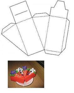 Gift box - cake