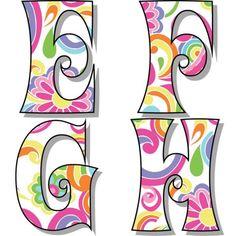 Art Classroom Decor, Writing Outline, Disney Alphabet, School Timetable, Alphabet Style, Alphabet Templates, Christmas Alphabet, Pajama Pattern, Birthday Letters