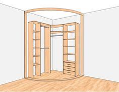 угловой гардероб фото - Поиск в Google