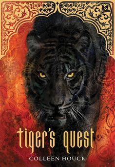 Tiger's Quest by Colleen Houck. The second book in the Tiger's Curse series.