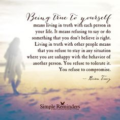 """""""Being true to yourself"""" by Brian Tracy Quotes To Live By, Me Quotes, Qoutes, Brian Tracy Quotes, Loving An Addict, Inspirational Words Of Wisdom, Think Happy Thoughts, Positive Thoughts, Lessons Learned In Life"""