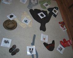 Merci qui ? MERCI MONTESSORI !: Cartes de nomenclature : les vêtements