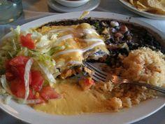 Shrimp Enchiladas  Mexican Chain Restaurant Recipes: El Ranchero Grande