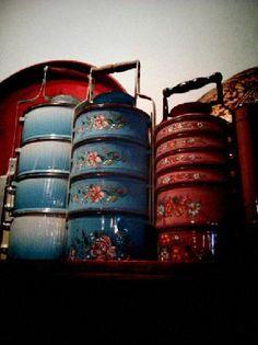 Indian Tiffin Carrier Tiffin Box Enamelware