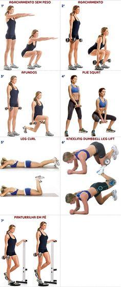 treino B pernas