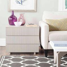 Safavieh Jorge 3 Drawer Cabinet, Multiple Colors, Gray