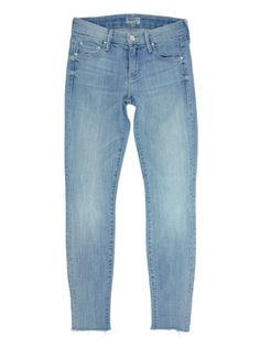 $196 Mother Denim Looker Ankle Fray in Just a Little White Lie Size 24 in Clothing, Shoes & Accessories, Women's Clothing, Jeans   eBay