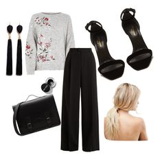 """""""new me"""" by gwgw-marra on Polyvore featuring RED Valentino, Yves Saint Laurent, Mignonne Gavigan and ASOS"""