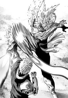 One Punch-Man - Capítulo 118 Opm Manga, Manga Anime, Manga Art, One Punch Man Anime, Fighting Drawing, Fighting Poses, Anime Fight, Bd Comics, Saitama