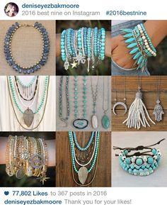 Top nine bohemian bohemian jewelry 2016 designed by Denise Yezbak Moore for www.halcraft.com
