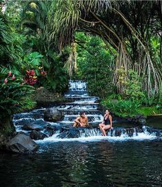 """""""The natural hot water river of hot springs was so incredibly beautiful it was hard to believe it was real. And it's naturally 100 degrees."""" Fantastic account & photo from of their latest visit to Vacation Places, Vacation Trips, Dream Vacations, Vacation Spots, Places To Travel, Travel Destinations, Places To Visit, Travel Tips, Costa Rica Destinations"""