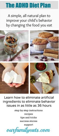 The ADHD Diet Plan from Our Family Eats.  A simple, mom-proven method to improve your child's behavior.