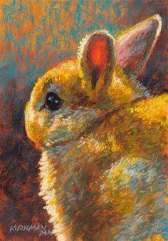 """Vanilla Puff"" - Original Fine Art for Sale - © Rita Kirkman"