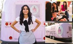 Chipped nail? Call the mani truck! The beauty salon on wheels