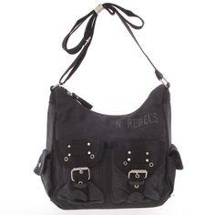 Hit od New Rebels pro ženy, které mají rády spíše uvolněnější outfit. Tahle originální černá látková kabelka je v ležérním stylu, přitom originální a praktická. Balenciaga City Bag, Rebecca Minkoff, Rebel, Shoulder Bag, Unisex, Bags, Outfit, Products, Fashion
