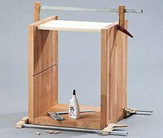 nachttisch bauen buchenholz nachttische und einfach. Black Bedroom Furniture Sets. Home Design Ideas