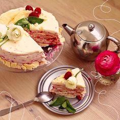 ку ку, сегодня в блоге пошаговый рецепт малинового наполеона, просто и вкусно, ням - perventina.ru