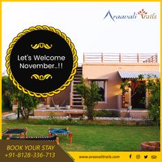 A resort in the beautiful hills of Aravali Ranges, Araavali Trails - an ideal destination for you to plan a one day picnic or a nature vacation with friends, family or corporate groups. Adventure Resort, Hotel Food, Happy November, Best Resorts, Horse Riding, Friends Family, Ranges, Trail, Picnic