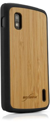 True Bamboo Minimus LG Nexus 4 Case - The pitch perfect choice for your LG Nexus 4.