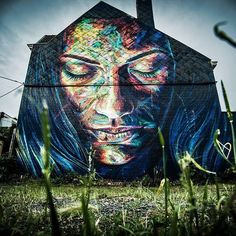 DAVID WALKER _ Outdoor Mural for One Day Festival _ Belgium