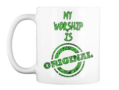 Enjoy your coffee in this awesome Mug. Start your day Right Worship, Coffee Mugs, Just For You, The Originals, Awesome, Coffee Cups, Coffeecup