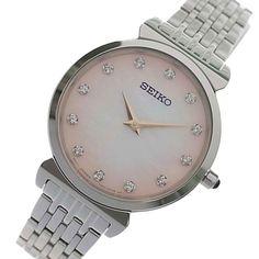 Seiko Quartz Watch SFQ803P Stainless Steel Bracelet, Stainless Steel Case, Diamond Quartz, Seiko Watches, Quartz Watch, Accessories, Stainless Steel Mailbox