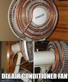 DIY Air Conditioner Fan