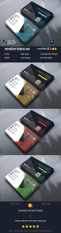 Business Card Template PSD. Download here: http://graphicriver.net/item/business-card/15287315?ref=ksioks