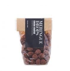 Nicolas Vahé Meringueparels met cacao  SHOP ONLINE: http://www.purelifestyle.be/shop/view/giving/verwennerijen/nicolas-vahe-meringueparels-met-cacao
