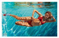 Natasha Poly, Vogue Paris, Emmanuelle Alt, Anna Ewers, Underwater Painting, Affinity Designer, V Magazine, L'oréal Paris, Underwater Photography