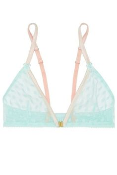 The Best Bras For Small-Chested Women #refinery29  http://www.refinery29.com/bras-for-small-breasts#slide-23  Mimi Holliday's non-padded, wireless bra is an ideal choice for lazy weekend days spent lounging around your apartment, or for occasions when you can't be bothered with underwire. - intimates uk, mature lingerie, freya lingerie *ad