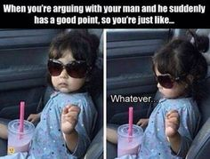 Too Cool: Arguing With My Husband Yesterday
