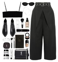 """""""Proenza"""" by breilachristou ❤ liked on Polyvore featuring Proenza Schouler, Acne Studios, Alexander Wang, Yves Saint Laurent, claire's, H&M, Bobbi Brown Cosmetics, Isadora, MAC Cosmetics and Smythson"""