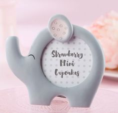 Giving out Little Peanut Elephant Photo Frame to show your little peanut baby shower or elephant birthday party guests just how nuts you are about them. This round elephant-shaped photo frame is just. Unique Baby Shower Favors, Baby Shower Party Favors, Baby Shower Parties, Baby Shower Themes, Baby Shower Decorations, Baby Shower Gifts, Baby Showers, Shower Ideas, Baby Favors
