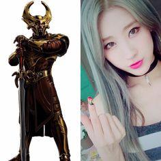 Norse Zodiac // Heimdall // Hyuna of 9muses