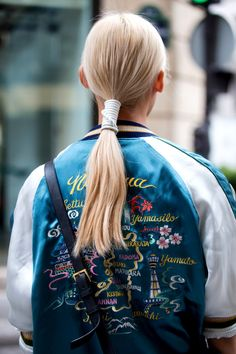 Turn the classic ponytail up a notch