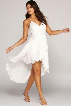 Send Me An Angel High Low Dress - Mvagustacheshire Hi Low Wedding Dress, Wedding Dresses Plus Size, Dream Wedding Dresses, Wedding Sundress, Dresses For Teens, Dresses For Sale, Cute Dresses, Midi Dresses, Spring Dresses
