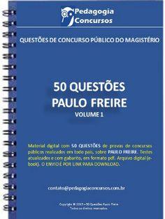 Apostila - Paulo Freire - Pedagogia Concursos