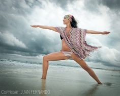 Veronica Pesantes, Yoga Instructor photographed in Miami