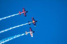 Flying Bulls Aerobatic Trio by Graziella Serra Art & Photo on