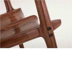 Detail:  Maloof Rocker Chair Joint