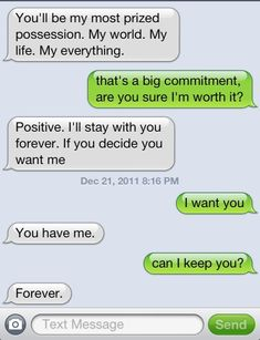 """Sigh this is awesome. If only women said this to good guys & not the shtheads wi… Sigh this is awesome. If only women said this to good guys & not the shtheads with """"Emotional Vacancy"""" signs hanging from their necks. Cute Couple Quotes, Cute Couple Text Messages, Cute Messages, Funny Text Messages, Cute Relationship Texts, Cute Relationships, Distance Relationships, Perfect Relationship, Couple Relationship"""