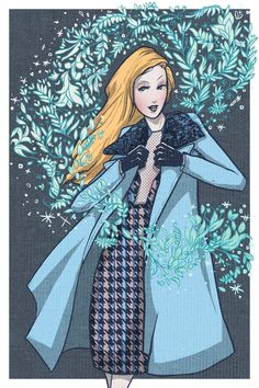 Gucci F/W 2013 by Roberto Sánchez Curated.Works: Christmas 2013 Holiday Postcard