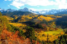 Would love to see Vail in the fall. Only been there in winter.