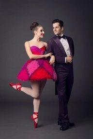 NYCB Dancers Tiler Peck and Robert Fairchild. Cutest Dance Couple Ever!