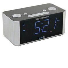 Smartset Radio Alarm Clock Led