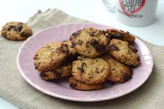 Healthy Chocolate Chip Cookies - Chickslovefood